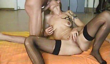 Hot Babe obtient film porno amateur français une éjaculation ATM